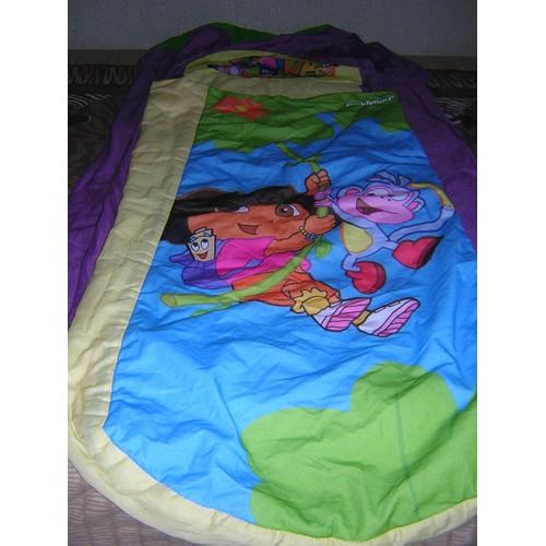 sac de couchage enfant dora l 39 exploratrice pas cher priceminister. Black Bedroom Furniture Sets. Home Design Ideas