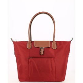 Sac shopping Hexagona Rouge