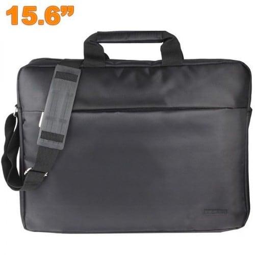 sacoche ordinateur portable pc mac 15 6 pouces housse protection noir. Black Bedroom Furniture Sets. Home Design Ideas