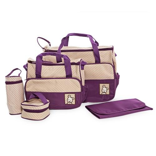 sacs langer b b 5 pieces pour b b sac main sac. Black Bedroom Furniture Sets. Home Design Ideas