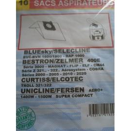 Sacs aspirateur Bluesky Selecline-bvc/bvn 1600-1900