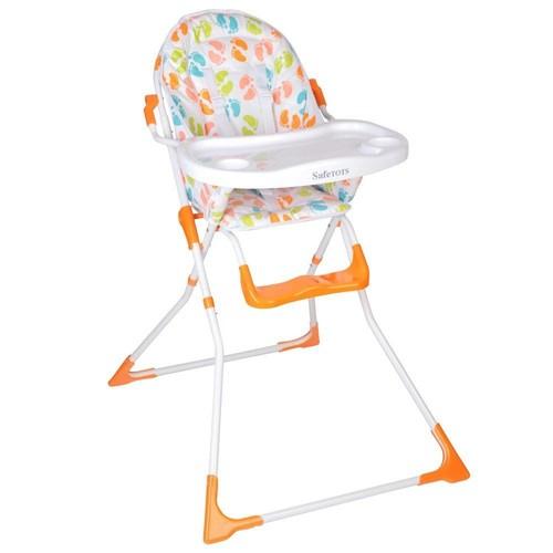 Safetots Chaise Haute Pliante De Compact Pieds Bebe