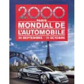 salon mondial de l 39 automobile 2000 paris porte de versailles. Black Bedroom Furniture Sets. Home Design Ideas