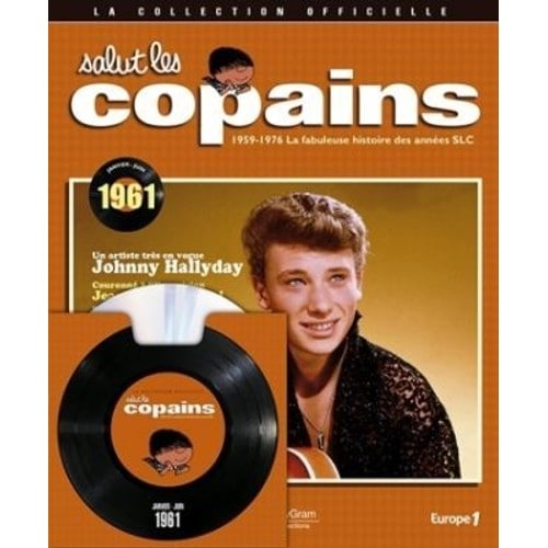 salut les copains collection officielle cd livre johnny hallyday cd album. Black Bedroom Furniture Sets. Home Design Ideas