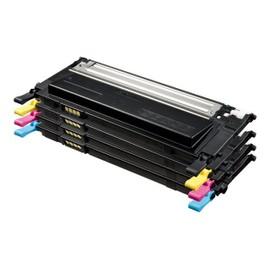 Compatible Samsung Clt-P4092c - Pack De 4 - Noir, Jaune, Cyan, Magenta - Cartouche De Toner - Pour Clp-310, 310n, 315, 315w; Clx 3170fn, 3175, 3175fn, 3175fw, 3175n