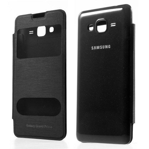 samsung galaxy grand prime g530 view coque housse etui sur. Black Bedroom Furniture Sets. Home Design Ideas