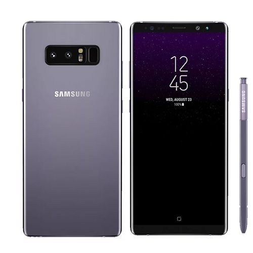 samsung galaxy note8 double sim 128 go gris orchid e pas cher. Black Bedroom Furniture Sets. Home Design Ideas