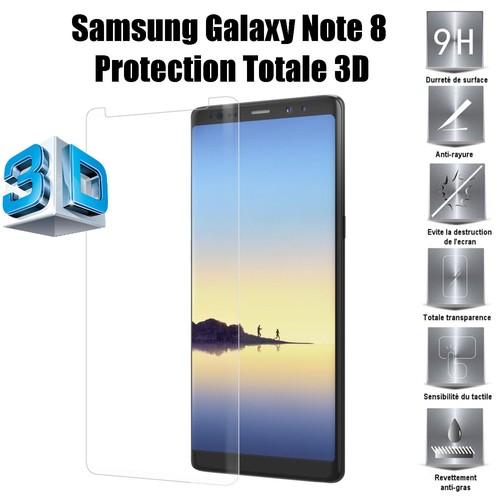 samsung galaxy note 8 vitre protection d 39 ecran en verre. Black Bedroom Furniture Sets. Home Design Ideas