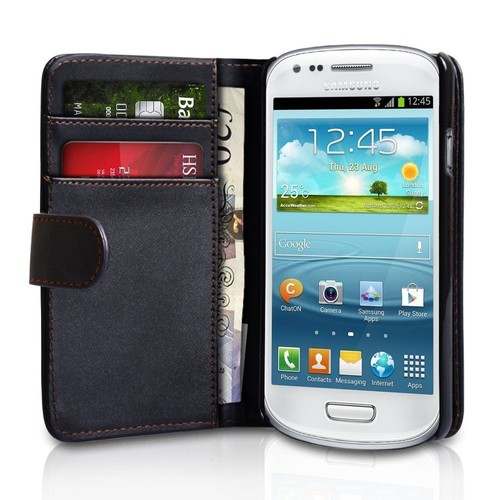 Samsung galaxy s3 mini i8190 etui portefeuille housse for Housse samsung s3