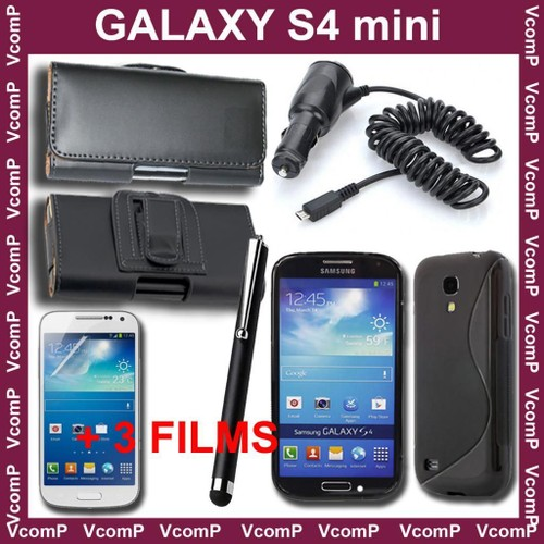 Samsung Galaxy S4 Iv Mini I9190 I9195   Coque Etui Housse Lot Kit Pack 7  Accessoires 391fed876b8