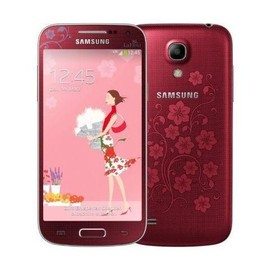 samsung galaxy s4 mini rouge la fleur pas cher. Black Bedroom Furniture Sets. Home Design Ideas