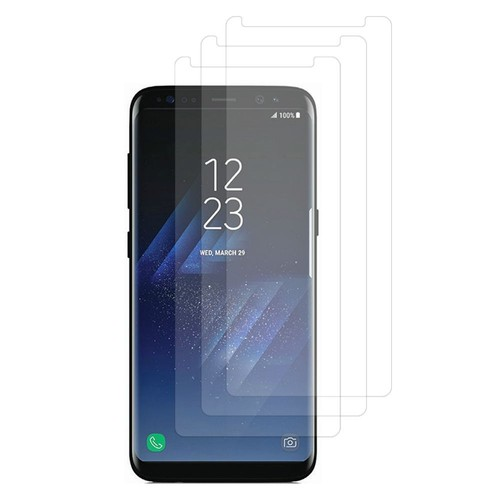 samsung galaxy s8 galaxy s8 plus 6 2 non compatible galaxy s8 5 8 lot pack de 3x films. Black Bedroom Furniture Sets. Home Design Ideas