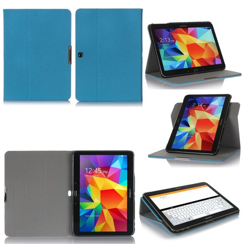 samsung galaxy tab 4 10 1 housse bleue protection. Black Bedroom Furniture Sets. Home Design Ideas