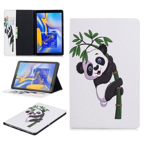 81c6b887edd6e Samsung Galaxy Tab A 10.5 (2018) Coque, Saturcase Beau Motif Pu Cuir Flip  Portefeuille Support Porte-Carte Protecteur Coque Housse Étui Pour ...