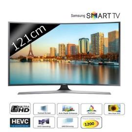 samsung ue48ju6670 smart tv uhd 4k incurv 121cm pas cher. Black Bedroom Furniture Sets. Home Design Ideas