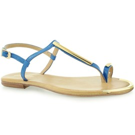 Gino Rossi DN924L Bleu - Chaussures Sandale Femme