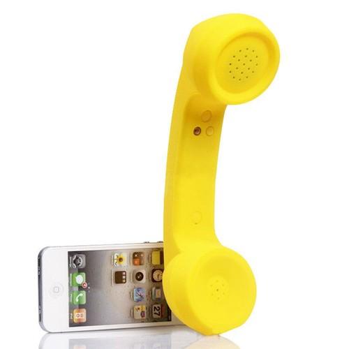 Sans Fil Bluetooth écouteur Mic Rétro Téléphone Cellulaire Combiné