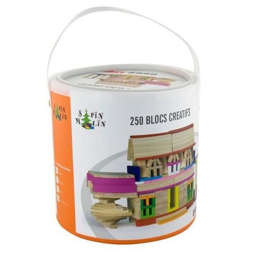 sapin malin baril de 250 planchettes en bois achat et vente. Black Bedroom Furniture Sets. Home Design Ideas