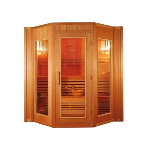 sauna traditionnel finlandais 4 5 places gamme prestige g teborg ii l200 p175 h200cm. Black Bedroom Furniture Sets. Home Design Ideas