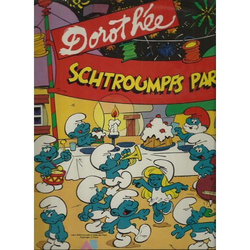 Schtroumpfs parade schtroumpf la la la chanson du - Schtroumpf paresseux ...