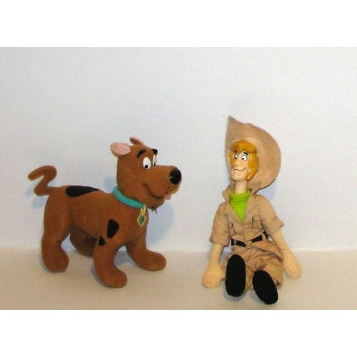 scooby doo et sammy scoubidou et sami peluche lansay 22cm. Black Bedroom Furniture Sets. Home Design Ideas