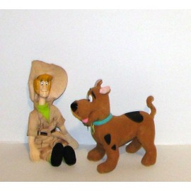 Scooby doo et sammy scoubidou et sami peluche lansay 22cm - Scoubidou et samy ...