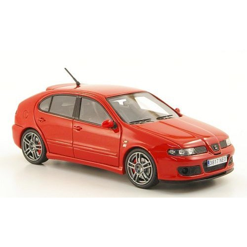 seat leon mk1 cupra r rouge 2003 voiture miniature miniature d j mont e neo 1 43. Black Bedroom Furniture Sets. Home Design Ideas