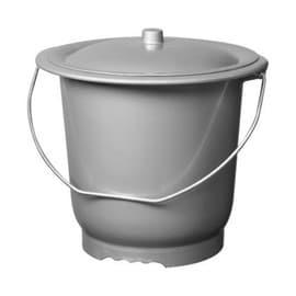 seau toilette hygi nique pot de chambre avec couvercle adulte pas cher. Black Bedroom Furniture Sets. Home Design Ideas