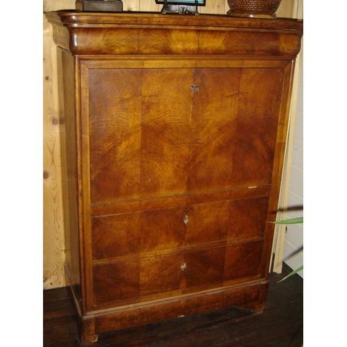 secretaire a abattant louis philippe fin xix dans l etat pas cher. Black Bedroom Furniture Sets. Home Design Ideas