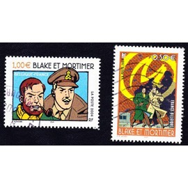 S�rie Compl�te 1x 0,50+1x 1,00 Euro Blake Et Mortimer 2004 (France)