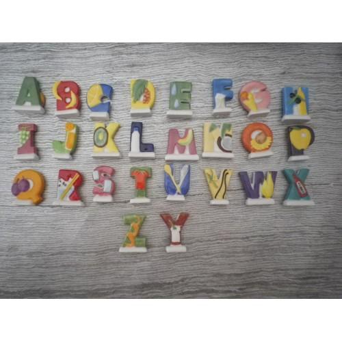 Serie Lettre De L Alphabet Abecedaire Serie Complete De 26 Lettres
