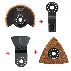 set accessoires carrelage pour outil multifonction bosch pas cher. Black Bedroom Furniture Sets. Home Design Ideas