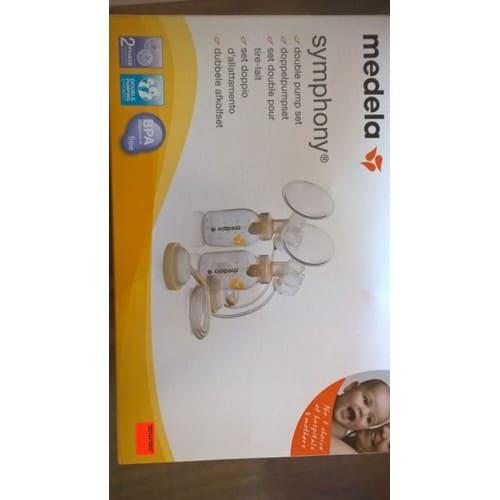 set double pour tire lait medela symphony pas cher priceminister rakuten. Black Bedroom Furniture Sets. Home Design Ideas