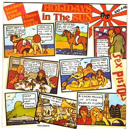 Holiday In The Sun Sex Pistols 67