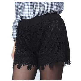 sexy dentelle short femme mini pantalon plage de la mer courte fashion. Black Bedroom Furniture Sets. Home Design Ideas