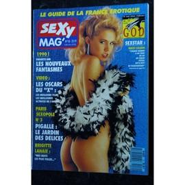 Sexy Mag 10 Brigitte Lahaie Les Nouveaux Fantasmes Pigalle Le Jardin Des Delices Nikki Charm 1990