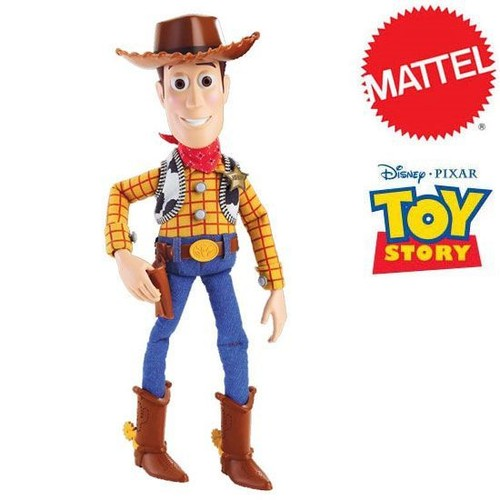 sh rif woody toy story 3 figurine parlante mattel 36 cm. Black Bedroom Furniture Sets. Home Design Ideas
