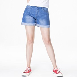 Short Jeans - Short Femme Taille Casual Ylg-