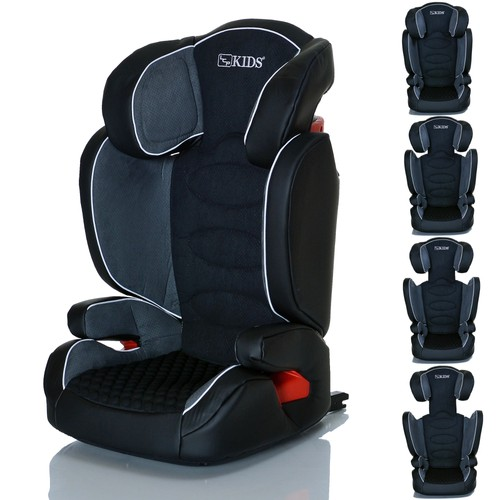 si ge auto bebe isofix neptun ifix graphit groupe 2 et 3 de 15 36 kg grandit avec l enfant. Black Bedroom Furniture Sets. Home Design Ideas