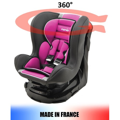 si ge auto pivotant 360 et inclinable 4 positions made in france groupe 0 1 0 18kg 4. Black Bedroom Furniture Sets. Home Design Ideas