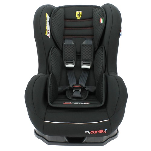 si ge auto ferrari inclinable de 0 18 kg avec protections lat rales fabrication 100. Black Bedroom Furniture Sets. Home Design Ideas