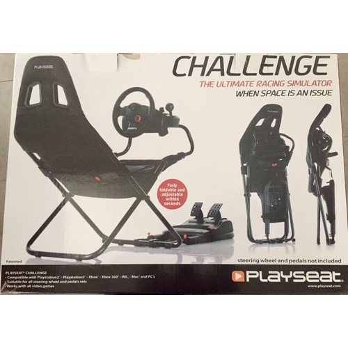 si ge de simulation playseat challenge noir achat et vente. Black Bedroom Furniture Sets. Home Design Ideas