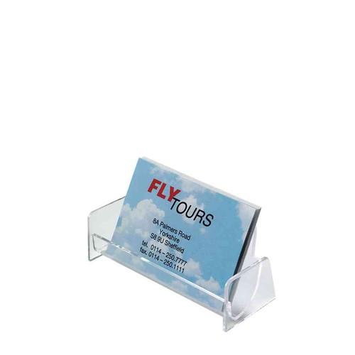 Sigel Porte Cartes De Visite Plastique Cristal 1 Compartiment Largeur 97 Mm