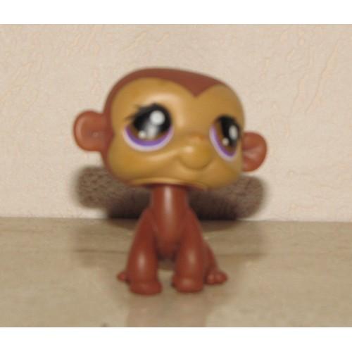 Singe petshop aux yeux violet achat vente de jouet - Petshop singe ...
