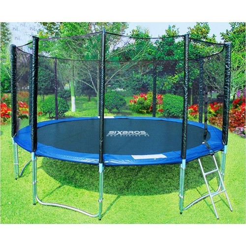 trampoline de jardin. Black Bedroom Furniture Sets. Home Design Ideas