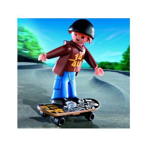 Playmobil 4754 jeune avec skateboard neuf et d 39 occasion - Creer son skateboard ...