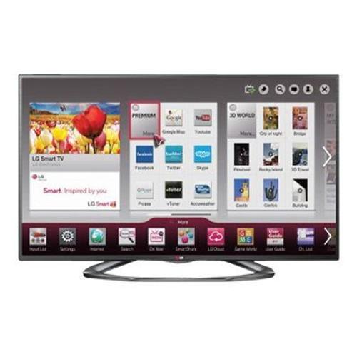 smart tv led lg 50la620s 3d 50 1080p full hd pas cher. Black Bedroom Furniture Sets. Home Design Ideas