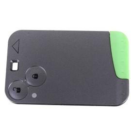 smartcard carte cle pour renault 2 boutons laguna vel satis espace coque telecommande plip pro plip. Black Bedroom Furniture Sets. Home Design Ideas
