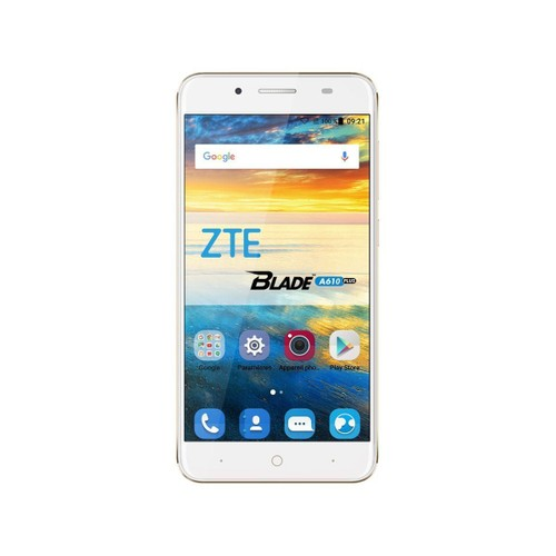 Smartphone zte blade a610 plus gold pas cher for Housse zte blade a610 plus