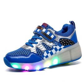 sneaker led baskets roul enfant gar on chaussures roulette. Black Bedroom Furniture Sets. Home Design Ideas
